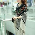 womens Pullover Cardigan Capes & Poncho's