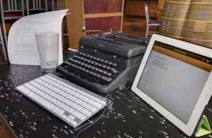 My Typewriter :: The Dredge Cycle: An Experimental Novel by Adam Rubinstein
