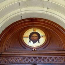 Bildnis über der Tür