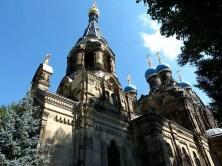 Russisch-Orthodoxe Kirche Dresden mit Kuppeln