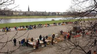 Elbeflohmarkt Dresden überblick