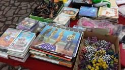 Elbeflohmarkt Dresden Schallplatten und VHS