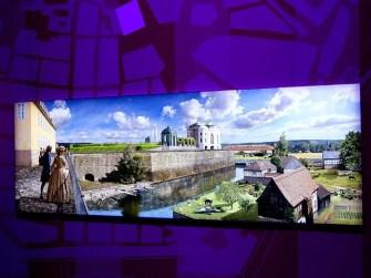 Wunderschönes klares Bild im Panometer Dresden