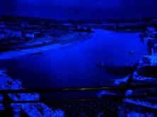 Die Elbe bei Nacht