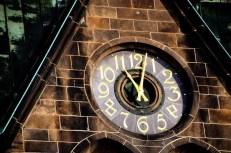 Uhr der Herz Jesu Kirche Dresden