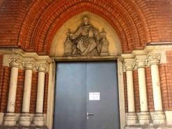 Theaterruine Nebeneingang mit Treppe