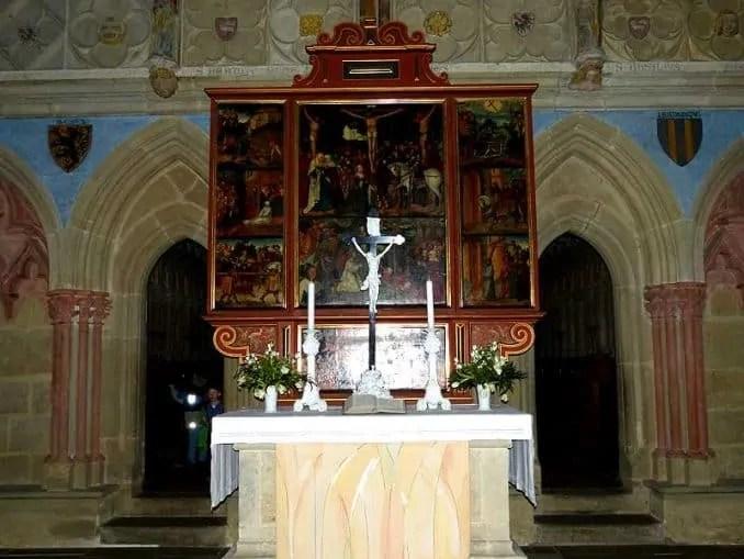 Altar mit Bild