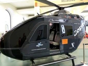 Helikopter Verkehrsmuseum Dresden