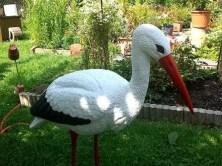 Storch im Garten