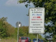 Tag der Sachsen 2014 Hinweise Parkplatz