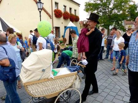Tag der Sachsen 2014 Kinderwagen