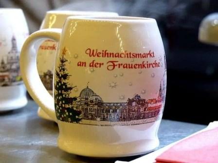 Tasse Weihnachtsmarkt an der Frauenkirche