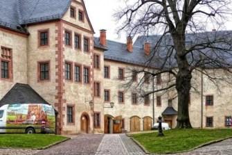 Zufahrt Burg Mildenstein