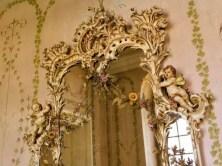 Verzierter Spiegel Schloss Rammenau