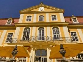 Balkon Schloss Rammenau