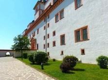 Seitenansicht Schloss Augustusburg