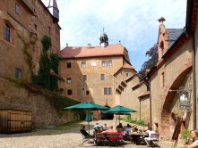 Cafe in der Burg