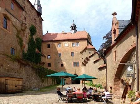 Cafe in der Burg