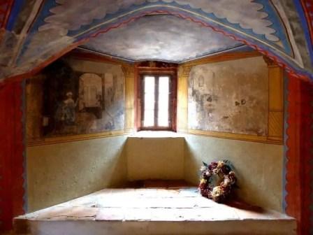 Alte Fensternische