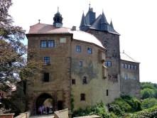 Ausflug Burg Kriebstein - Foto Burg von vorn