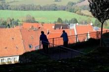 Geländer an der Burg