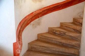 Treppe aus Stein