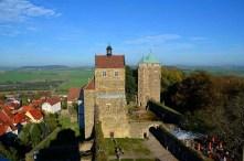 Burg Stolpen von oben
