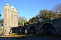 Brücke zur Burg Stolpen