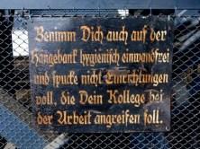 Hiinweisschild Bergbaumuseum