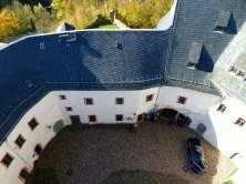 Innenhof Schloss Scharfenstein
