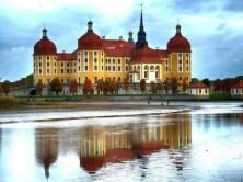 Schloss Moritzburg mit Teich