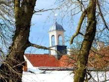 Turm des Jagdschlosses Grillenburg