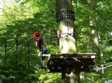 Waldseilpark klettern Moritzburg