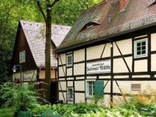 Gastwirschaft Zschoner Mühle Fachwerk