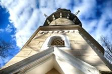 Koenig-Albert-Turm Weinbühla Fenster Gtter