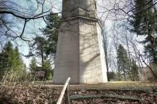 Koenig-Albert-Turm Weinböhla von hinten