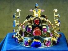 Krone Juwelen Gold Kreuz