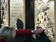 Wandbild bronze