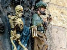 Skelett Figuren
