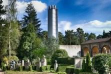 Schornstein Krematorium Urnenhain Tolkewitz