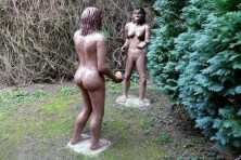 Steinzeitfrauen nackt