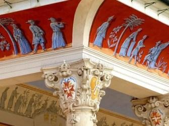 Malerei Pavillon Schloss Pillnitz