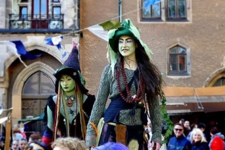 Albrachtsburg Meißen Mittelalterfest Hexen