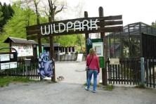 Eingang Wildpark Osterzgebirge