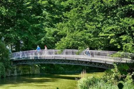 Lange Brücke Carolasee