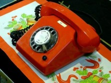 DDR Museum Telefon mit Wählscheibe