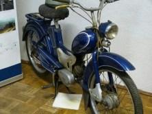 DDR Museum Motorrad klein blau
