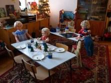 Kindergarten Mittagessen Tische Stühle