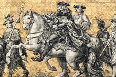 Pferd Fürstenzug Dresden