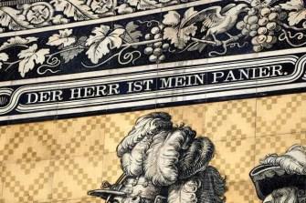 Obere Ornamente Fürstenzug Dresden